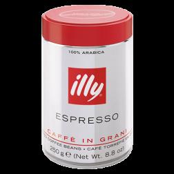 illy Espresso plåtburk kaffebönor 250g