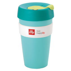 illy live happilly KeepCup kaffekopp grön 454ml