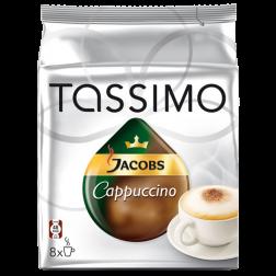 Jacobs Cappuccino Tassimo kaffekapslar 8st