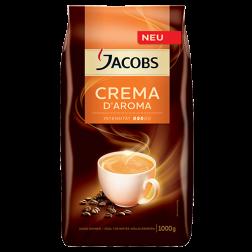 Jacobs Crema d'Aroma kaffebönor 1000g