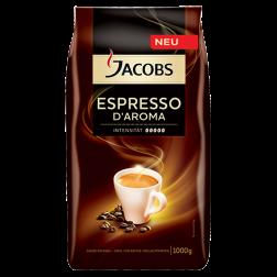 Jacobs Espresso d'Aroma kaffebönor 1000g