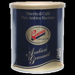 La Genovese Blue Gold Arabica burk malet kaffe 250g