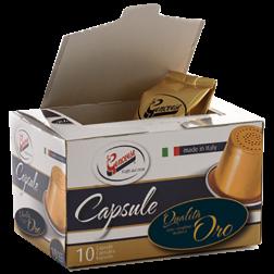 La Genovese Qualità Oro kaffekapslar till Nespresso 10st