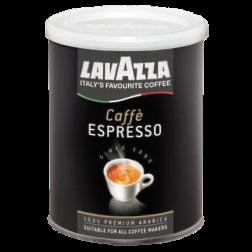 Lavazza 100% Arabica plåtburk malet kaffe 250g