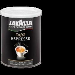 Lavazza 100% Arabica plåtburk malet kaffe 250g x12