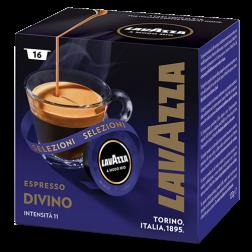 Lavazza A Modo Mio Espresso Divino kaffekapslar 16st utgånget datum