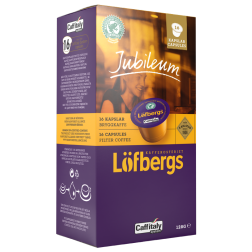Löfbergs Lila Jubileum brygg Caffitaly kaffekapslar 16st