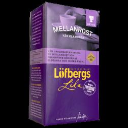 Löfbergs Lila Mellanrost malet kaffe 500g