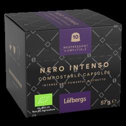 Löfbergs Lila Nero Intenso Nespresso kaffekapslar 10st