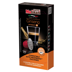 Molinari Ginseng kaffekapslar till Nespresso 10st