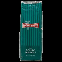 Monteriva Scuro Napoli kaffebönor 500g