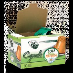 Sole Italia Natura Bio kaffekapslar till Nespresso 10st