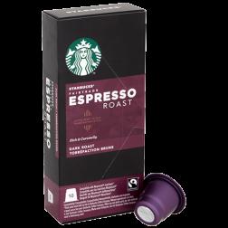 Starbucks Espresso Roast kaffekapslar till Nespresso 10st