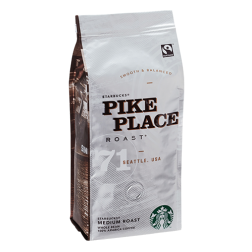 Starbucks Coffee Pike Place Roast kaffebönor 250g