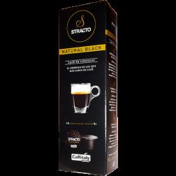 Stracto Natural Black Caffitaly kaffekapslar 10st