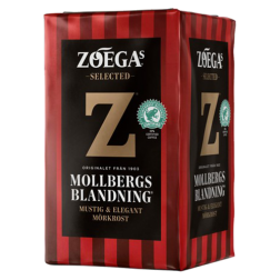 Zoégas Mollbergs Blandning malet kaffe 450g