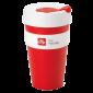 illy live happilly KeepCup kaffekopp röd 454ml